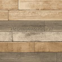 Horizontal wood brown