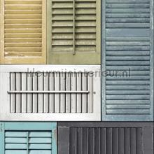 Shutters collage mural