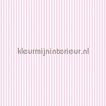 Streep 6 mm roze wit