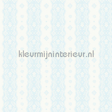 Dentelle stripe pale blue