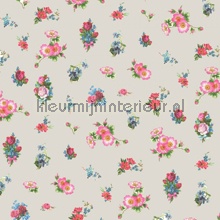 Romantic flower beige
