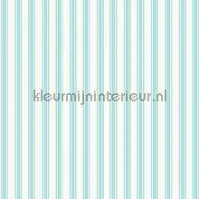 Pin stripe aqua