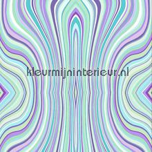 Moving lines aqua Trendy - Hip
