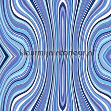 Moving lines blue Trendy - Hip
