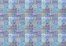 maroccan tiles blue