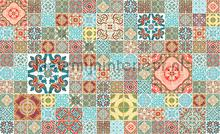 Maroccan tiles pattern