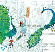 Green Peacocks