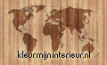 Worldmap on wooden planks