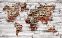 Smokey worldmap