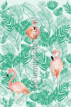 Flamingo forest