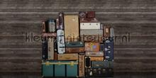 Stacked Suitcases Heap