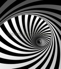 Spiral balck and white