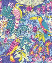 Wallpower Junior Birds in Paradise Blue