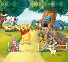 Winnie the pooh has a party