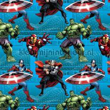 Hulk Avengers jongens gordijnen