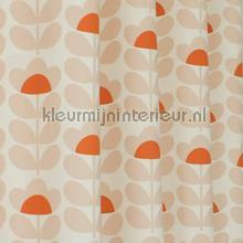 Sweetpea orange retro stijlen