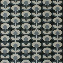 Oval flower cool grey