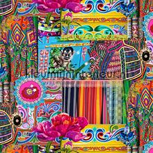 Oosterse bazaar multiculti meisjes gordijnen