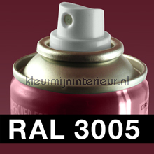 RAL 3005 Wijnrood
