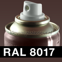 RAL 8017 Chocolade Bruin